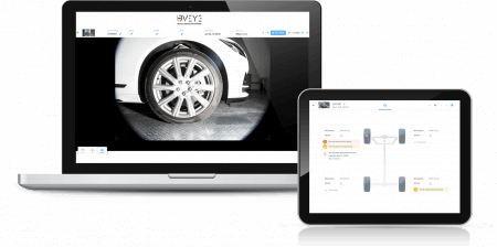 Artemis. Wheels. Minions. UI. UVeye's dedicated automated tire scanning device, applicable for Automotive Solutions, offering coverage throughout the vehicle lifecycle.