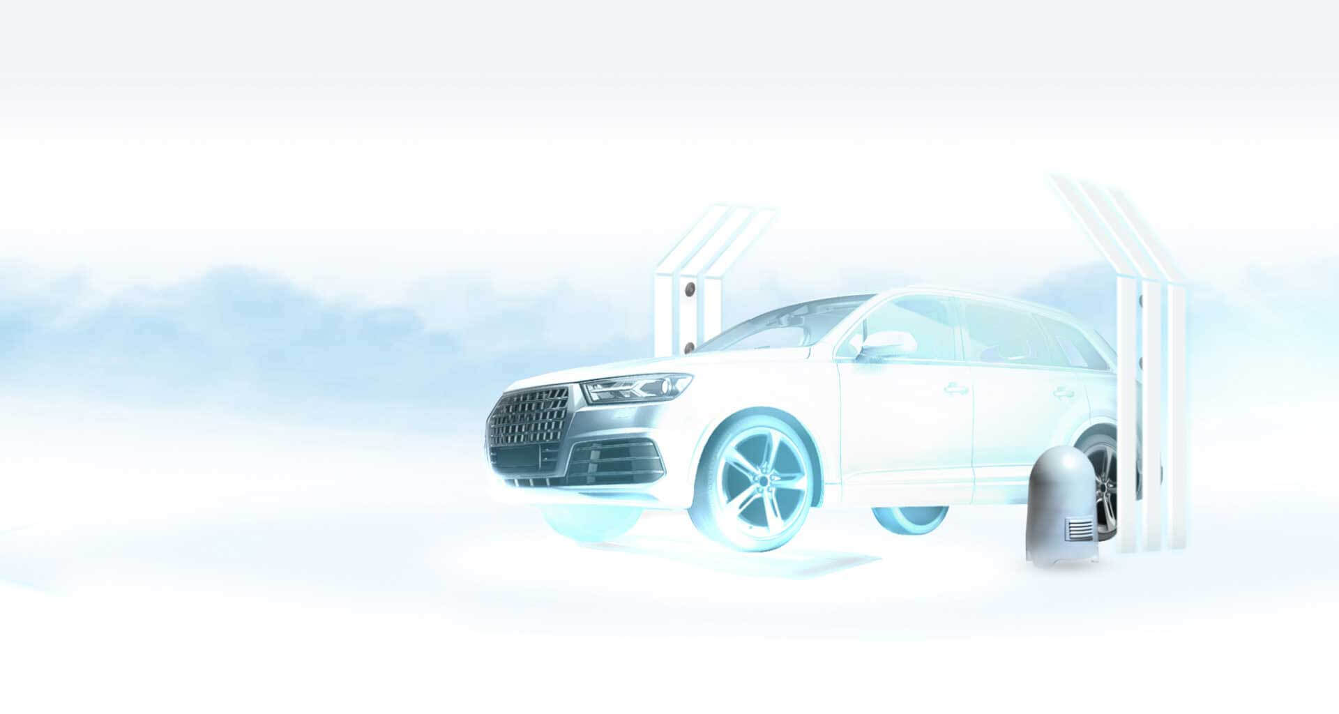 UVeye vehicle inspection systems