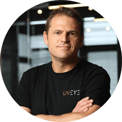 Eyal Kaplan VP HLS at UVeye vehicle inspection systems