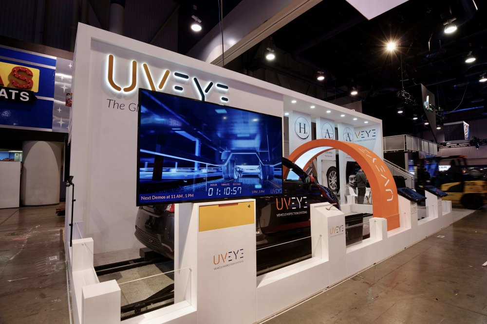 CES vegas 2020 UVeye vehicle inspection systems automotive solutions